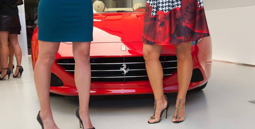 A Few Photos From Our Ferrari Drive & Ride Party!!